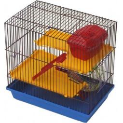 фото Клетка для грызунов ZOOmark 3-х этажная