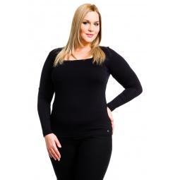фото Кофта Mondigo XL 7014. Цвет: черный. Размер одежды: 48