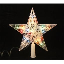 Купить Верхушка елочная Метелица «Звезда» 2291