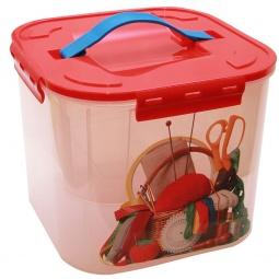 фото Контейнер для хранения мелочей с вкладышем IDEA «Деко. Рукоделие». Объем: 7 л