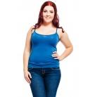 Фото Майка Mondigo XL 9351. Цвет: джинсовый. Размер одежды: 52
