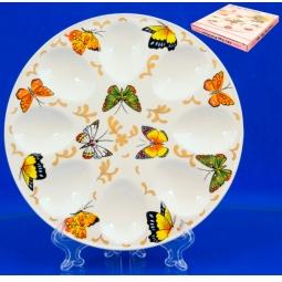 Купить Менажница для яиц Elan Gallery «Бабочки»