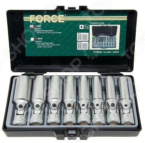 Набор торцевых головок Force F-4084 набор торцевых головок ombra 1 2 dr 911224