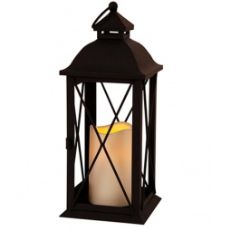 фото Фонарь-свеча Star Trading Lantern. Цвет: белый