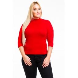 фото Водолазка Mondigo XL 7010. Цвет: красный. Размер одежды: 48