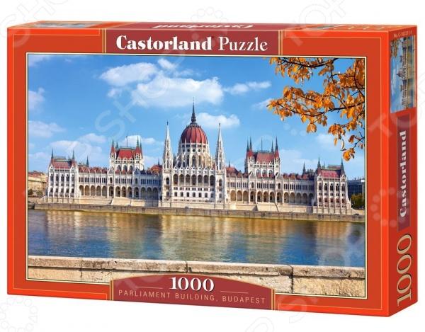 Пазл 1000 элементов Castorland «Парламент, Будапешт»Пазлы (501–1000 элементов)<br>Пазл Castorland Парламент, Будапешт это отличное и веселое времяпрепровождения для всей семьи. Внутри упаковки находится набор из 1000 элементов. Части изображения соединяются между собой с помощью пазлового замка. Собрав все детали воедино, у вас получится великолепная картина, которую, сперва надежно закрепив, можно повесить на стену, как предмет декора. Пазл Castorland Парламент, Будапешт изготовлен из абсолютно безопасного материала, поэтому замечательно подойдет для детей. Головоломка развивает усидчивость, наблюдательность, образное восприятие и логическое мышление. Постоянно манипулируя деталями, ребенок улучшает мелкую моторику рук и координацию движений. Размер готового пазла составляет 68х47 см.<br>