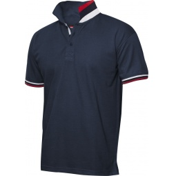 фото Рубашка-поло Clique «Ньютон». Цвет: темно-синий. Размер одежды: S
