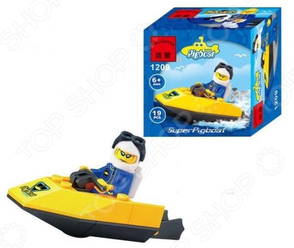 Конструктор игровой Brick SuperPigboat 1717050