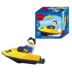 Купить Конструктор игровой Brick SuperPigboat 1717050
