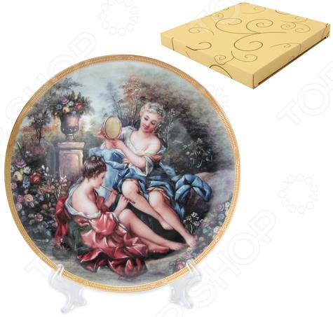 Zakazat.ru: Тарелка декоративная Elan Gallery «Подруги в саду»
