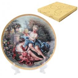 Купить Тарелка декоративная Elan Gallery «Подруги в саду»
