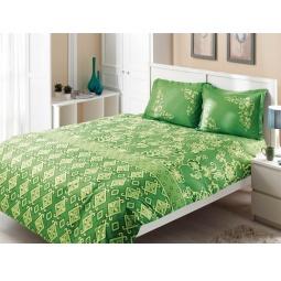 фото Комплект постельного белья TAC Catrin. 1,5-спальный. Цвет: зеленый