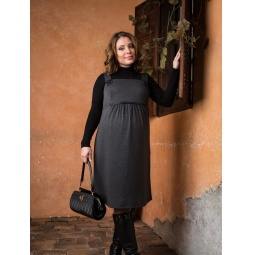 фото Сарафан для беременных Nuova Vita 2008.01. Цвет: серый меланж