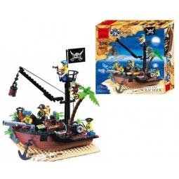 фото Конструктор игровой Brick «Пиратская шхуна»
