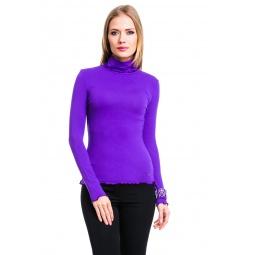 фото Водолазка Mondigo 1474. Цвет: фиолетовый. Размер одежды: 42