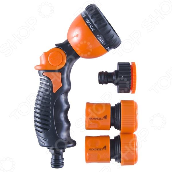 Пистолет-распылитель с аксессуарами Archimedes 90966 цена и фото