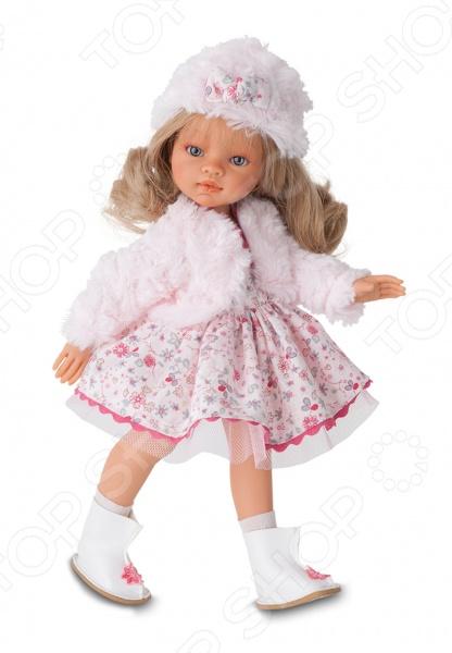 Кукла Munecas Antonio Juan «Эмили. Зимний образ. Блондинка» кукла интерактивная munecas antonio juan каталина блондинка