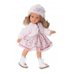 фото Кукла Antonio Juan «Эмили. Зимний образ. Блондинка»