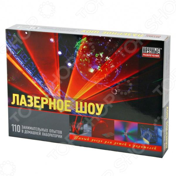 Набор для опытов Научные развлечения «Лазерное шоу»