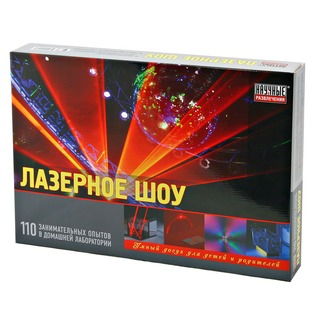 Купить Набор для опытов Научные развлечения «Лазерное шоу»