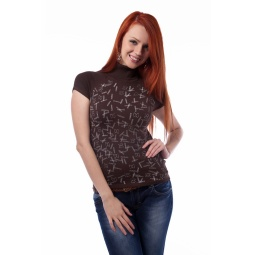 фото Свитер Mondigo 9754. Цвет: коричневый. Размер одежды: 46