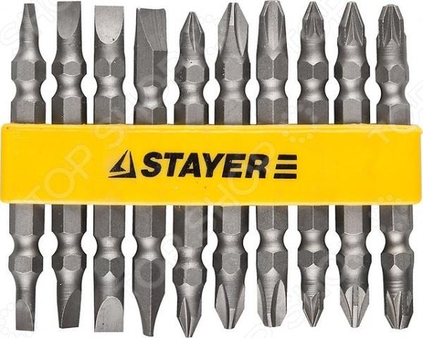 Набор бит Stayer Master 2605-H10_z01 набор бит stayer master 26077 h7
