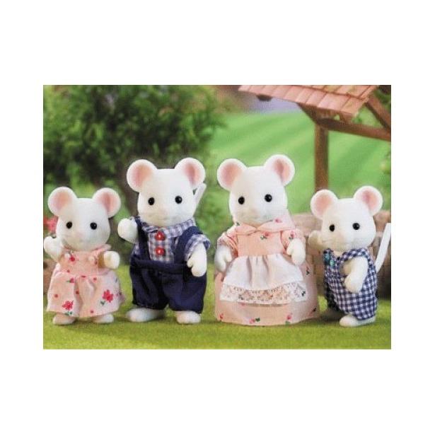 фото Набор игровой Sylvanian Families «Семья белых мышей»