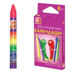 фото Набор карандашей масляных Луч «Флюрисветики»