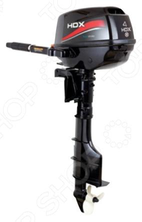 Лодочный мотор 4-х тактный HDX F 4 BMSРыбалка. Охота<br>Лодочный мотор 4-х тактный HDX F 4 BMS высококачественный мощный мотор для истинных любителей охоты и рыбалки. Разборная конструкция подвесного типа отличается простотой использования, компактными габаритами и практичным дизайном. Небольшой вес мотора позволяет без труда транспортировать его в дорожной сумке или багажнике. Лодочный мотор данной модели сконструирован по четырехтактной схеме, отличается надежностью и стабильной работой при любой частоте оборотов из допустимого диапазона. Топливная система карбюраторного типа, в качестве основного топлива используется бензин АИ-92. Водяная система охлаждения проточного типа предотвращает перегрев мотора и его поломку. Предусмотрена также система регулирования двигателя, который пользователь может повернуть под любым удобным ему углом. Запуск мотора осуществляется вручную, управление при помощи стандартного румпеля. Лодочный мотор изготовлен из высококачественных металлов, отличающихся прочностью и долговечностью. Используемая при производстве нержавеющая сталь устойчива к появлению коррозии и механическим воздействиям. В комплекте:  мотор;  отвертка;  свечной ключ;  трос запасной;  ключ-предохранитель;  винт гребной;  крепеж винта;  документация.<br>