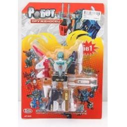 фото Игрушка-трансформер PlaySmart «Робот. Оруженосец 6в1»