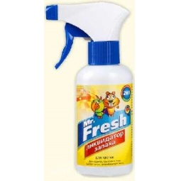 фото Спрей ликвидатор запаха для клеток хорьков, грызунов и птиц Mr.Fresh F104