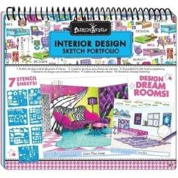 Купить Портфолио-блокнот Fashion Angels «Дизайн интерьера»
