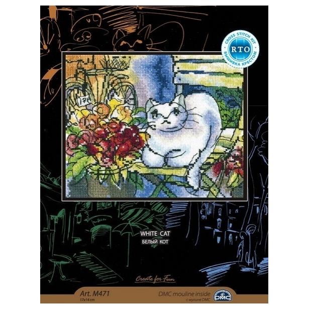 фото Набор для вышивания RTO «Белый кот»