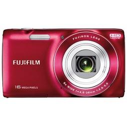 фото Фотокамера цифровая Fujifilm FinePix JZ250. Цвет: красный