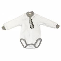 фото Боди для новорожденных с галстуком Ёмаё 24-313