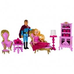 фото Набор кукол с аксессуарами Simba «Мини-принцесса с принцем в гостиной»