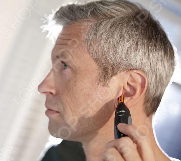 Триммер для носа и ушей Рнiliрs NТ 1150/10Триммеры<br>Триммер для носа и ушей Рнiliрs NТ 1150 10 - триммер для стрижки волос в носу и ушах, с водонепроницаемым корпусом. Работает от батареек типа АА. Позволяет настроить оптимальный угол наклона при использовании. Система защиты прибора не выдергивает волоски и не оставляет порезы на коже. Компактный размер триммера позволит всегда его брать с собой в любую поездку.<br>