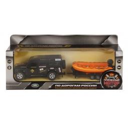 фото Машина инерционная Пламенный Мотор Land Rover «Рафтинг»