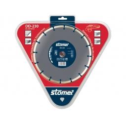 фото Диск алмазный Stomer для сухой резки. Модель: DD-230. Размер: 230 мм