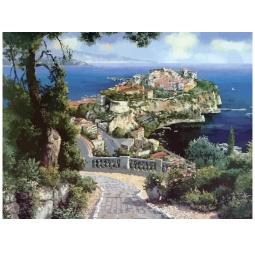 фото Набор для раскрашивания по номерам Белоснежка «Княжеский дворец в Монако»