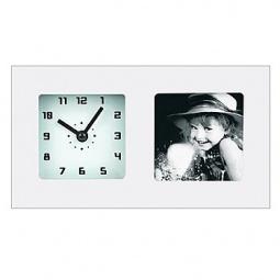 фото Часы с фоторамкой СТАРТ PHOTO. Цвет: белый