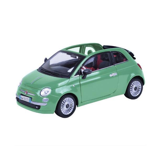 фото Модель автомобиля 1:18 Motormax Fiat Nuova 500 Cabrio. В ассортименте