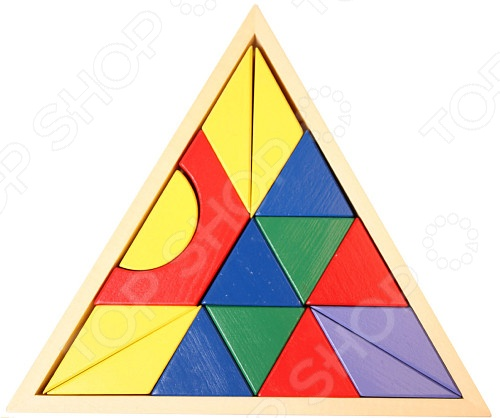 Кубики обучающие Mapacha Пирамида станут чудесным подарком для любознательного малыша. Основная идея игры заключается в том, что ребенок должен сложить из 15-ти кубиков узор внутри рамки-треугольника. Подобные игры способствуют развитию у детей мелкой моторики рук, пространственного мышления и восприятия форм и цветов. Кубики выполнены из древесины ангарской сосны и покрыты стойкой нетоксичной краской. Предназначено для детей в возрасте от 2-х лет.