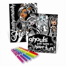 Купить Набор бархатных постеров Fashion Angels «Страшно красивые»
