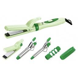 фото Набор для укладки волос Delta DL-0523. Цвет: зеленый