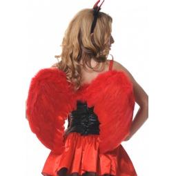 фото Крылья карнавальные Accessories «Ангельские». Цвет: красный
