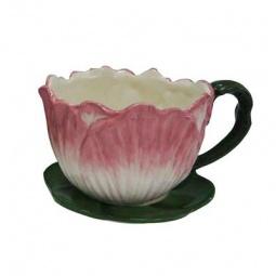 фото Кашпо декоративное Valenсia «Цветок лотоса». Диаметр: 24 см