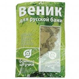 Купить Веник дубовый с полынью Банные штучки в упаковке