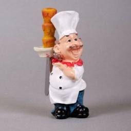 фото Нож с подставкой Феникс-Презент «Поваренок с кексами»