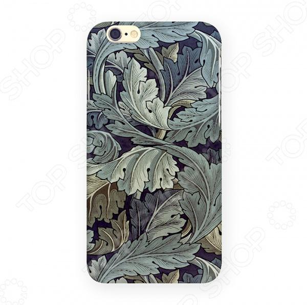 Чехол для iPhone 6 Mitya Veselkov «Листья» mitya veselkov чехол для iphone 6 скандинавская лошадка